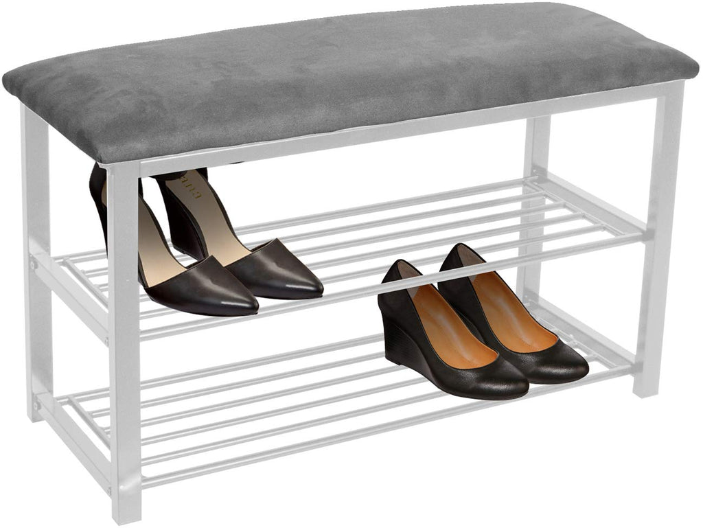 Shoe Rack Bench Organizer - Sorbus Home