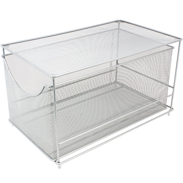 Mesh Steel Cabinet Organizer (Bottom Drawer) - Sorbus Home