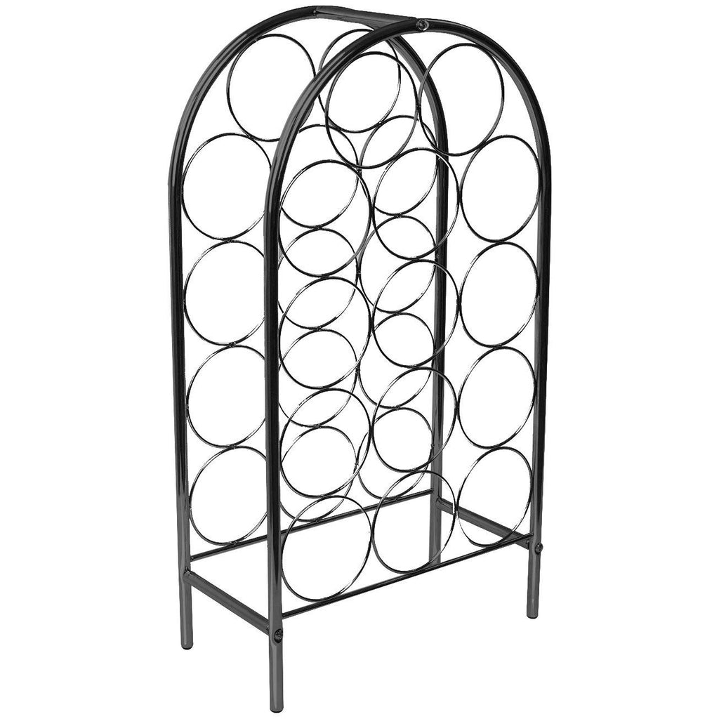 14-Bottle Wine Rack Stand, Bordeaux Chateau Style - Sorbus Home