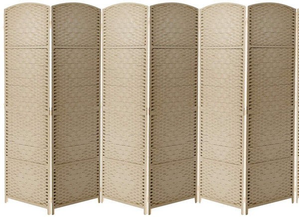 6-Panel Room Divider - Sorbus Home
