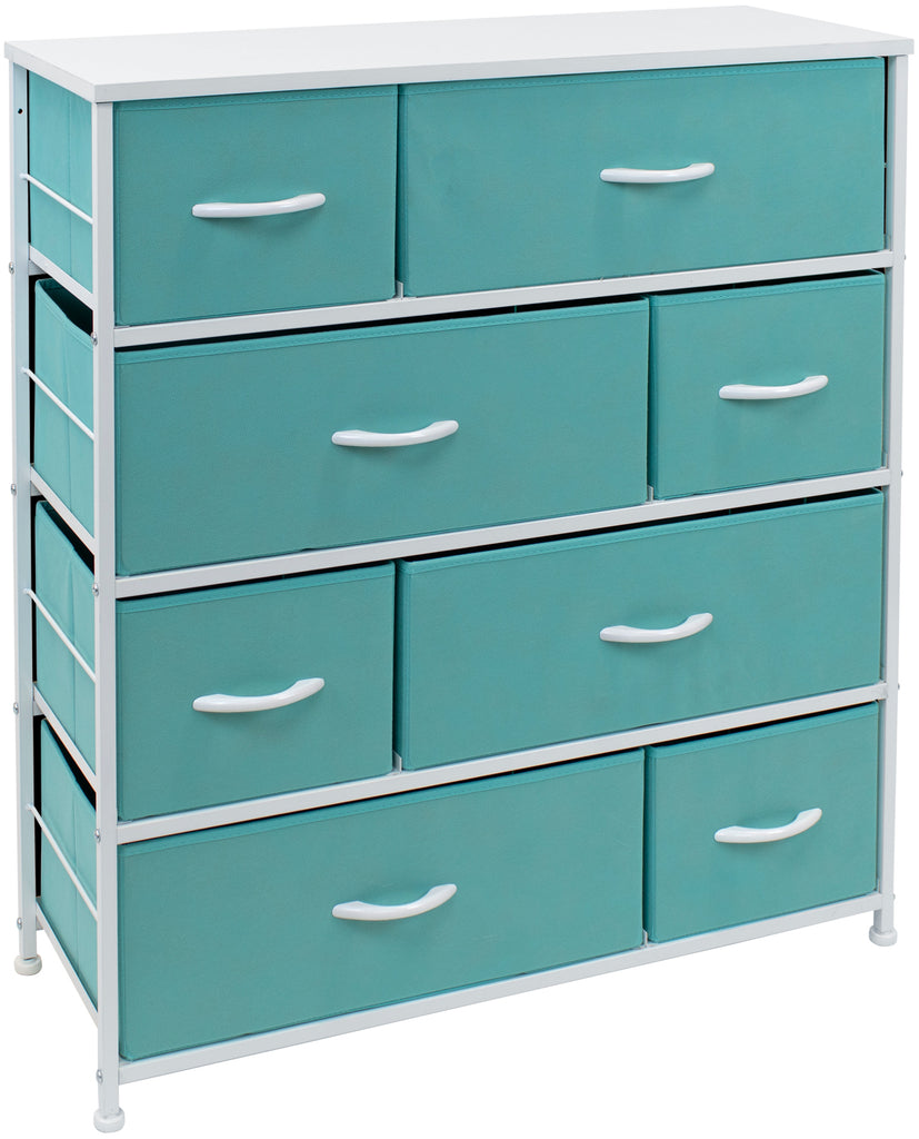 8-Drawer Dresser Chest (Pastel Colors)