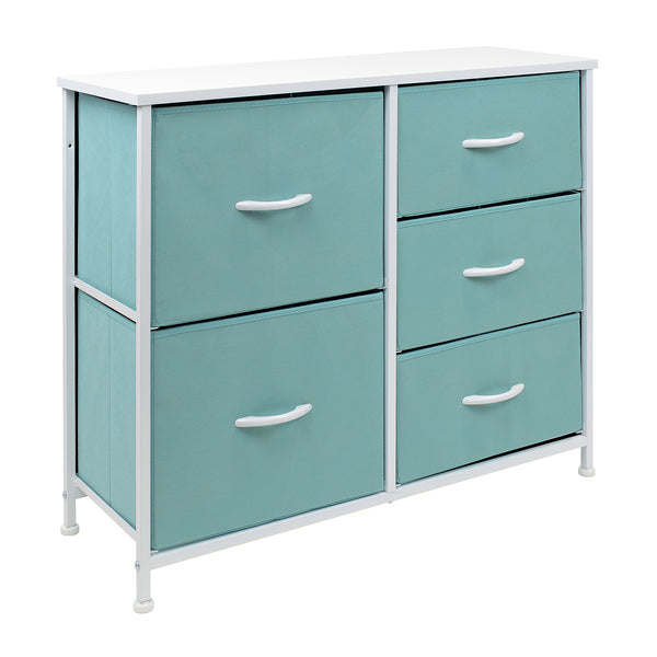 5-Drawer Dresser Chest (Pastel Colors)