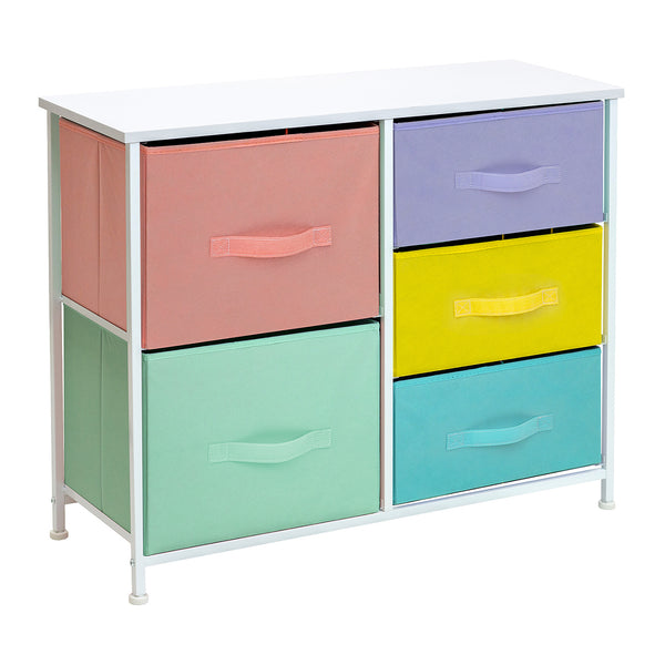 5-Drawer Dresser Chest (Multi-color)