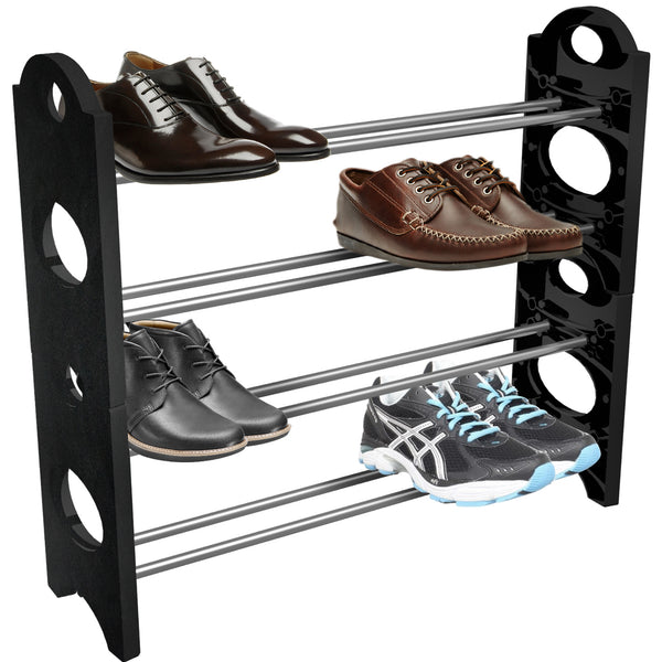 Shoe Rack Organizer Storage - Stackable and Detachable - Sorbus Home