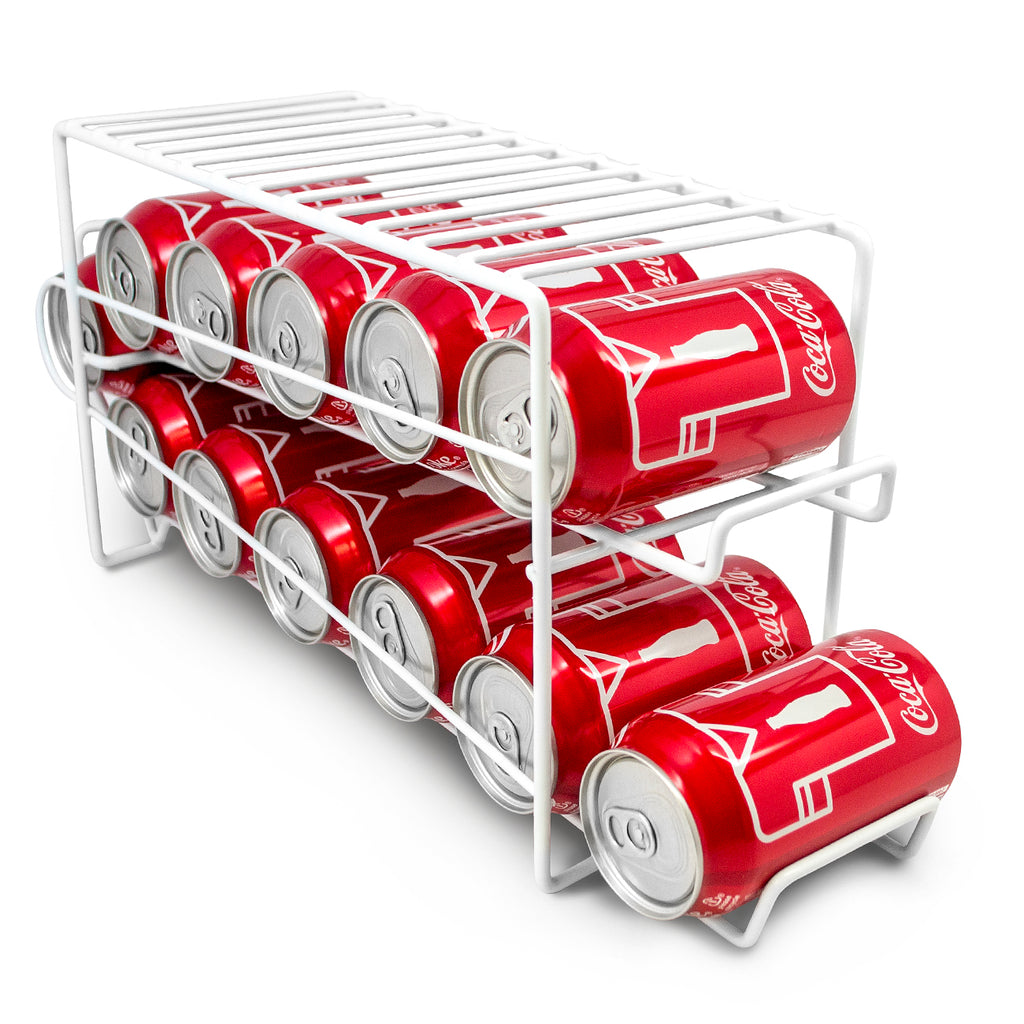 Soda Can Beverage Dispenser Rack - Sorbus Home