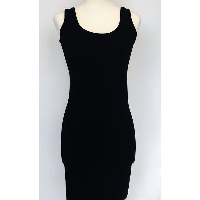 Sleeveless V-Neck/Scoop Neck Tank Dress