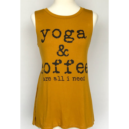 Yoga & Coffee Muscle Tank