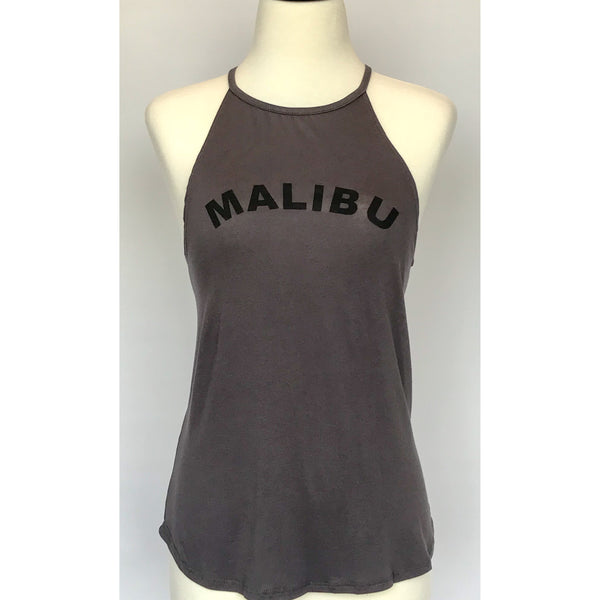 Malibu Halter Neck Tank Top