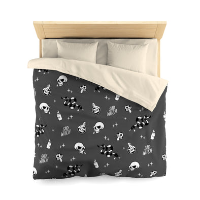 Duvet Cover Sad Witch
