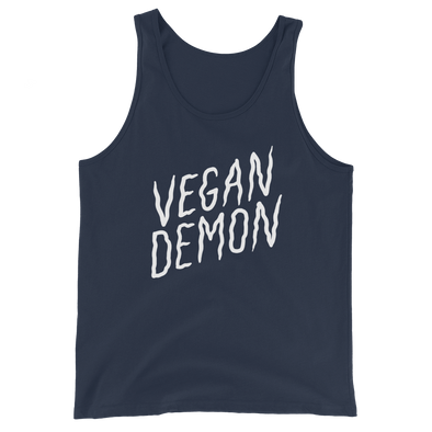 Unisex Tank Vegan Demon
