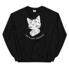 Sweatshirt Cat Person (White)