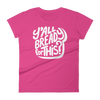Women's Tshirt Bready