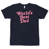 Fitted Tshirt World's Best Dad