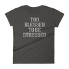 Womens Tshirt Blessed