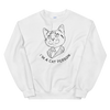 Sweatshirt Cat Person (Black)