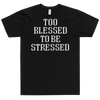 Fitted T-Shirt Blessed