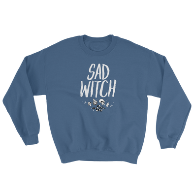 Sweatshirt Sad Witch