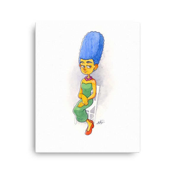 Original Marge Artwork Canvas