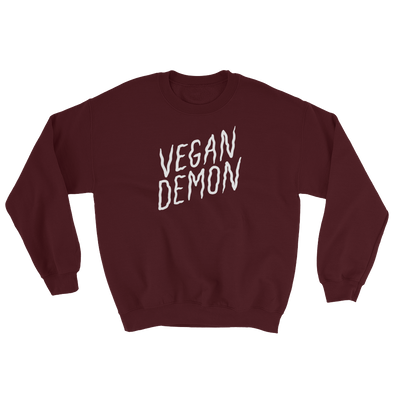 Sweatshirt Vegan Demon