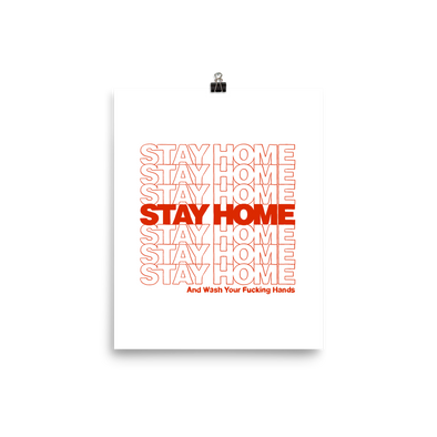 Poster Stay Home