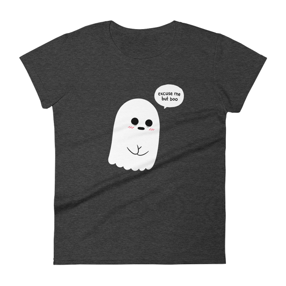 Women's Tshirt Shy Ghost