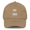 Dad hat Gay and Tired