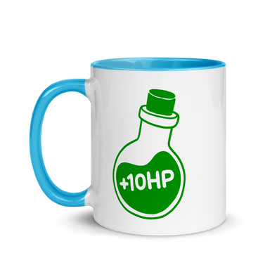 Mug +10HP (Colored Inside)