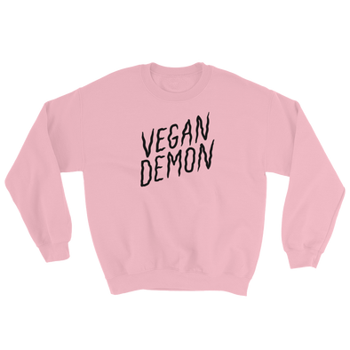 Sweatshirt Vegan Demon dark