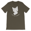 Basic T-Shirt Cat Person (White)