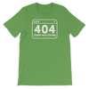 Basic T-Shirt 404 Error