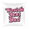 Pillow World's Best Dad
