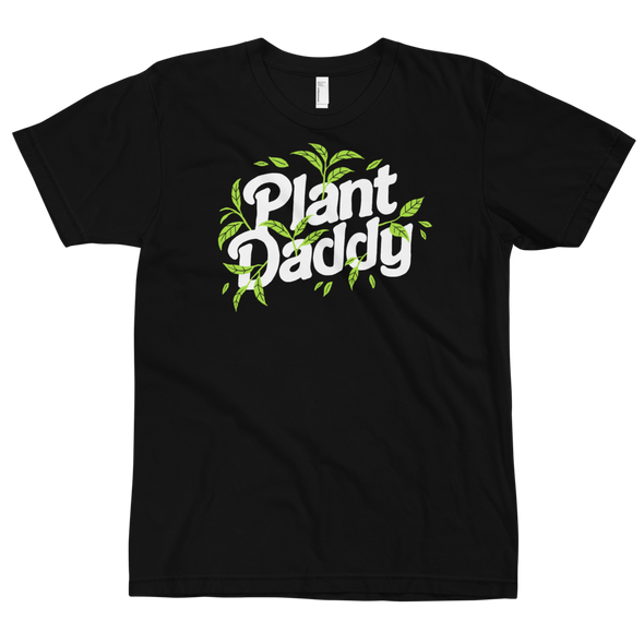 Fitted T-Shirt Plant Daddy (white lettering)
