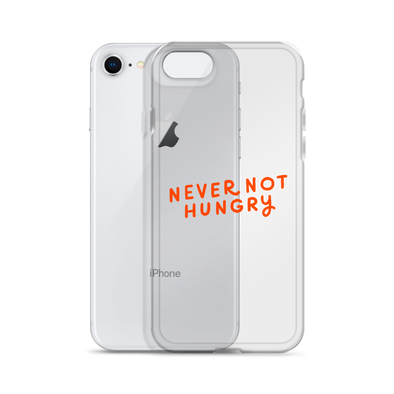 iPhone Case Never Not Hungry