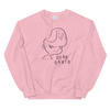 Sweatshirt Dear David black