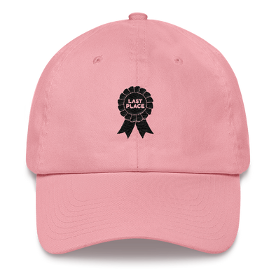 Dad hat Last Place
