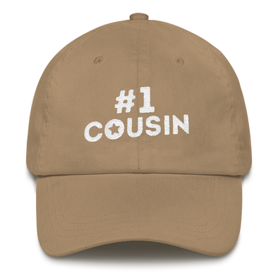 Dad hat Cousin