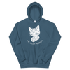 Hoodie Cat Person (White)