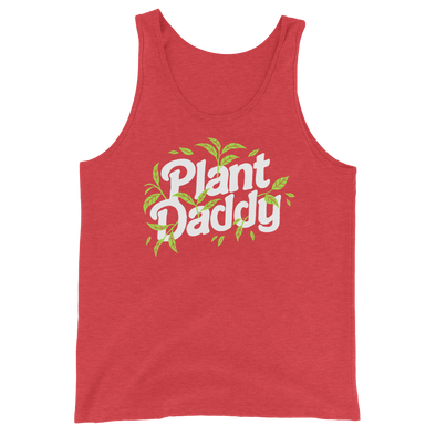Unisex Tank Plant Daddy (white lettering)
