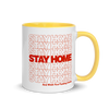 Mug Stay Home (Colored Inside)