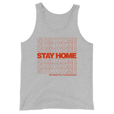 Unisex Tank Stay Home