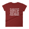 Women's Tshirt Ross