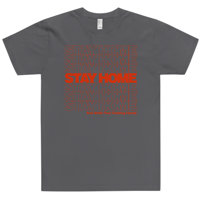Fitted T-Shirt Stay Home