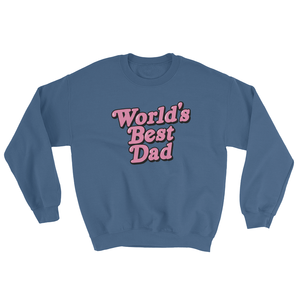 e144cd6b84f Sweatshirt World s Best Dad – Lizard Kween