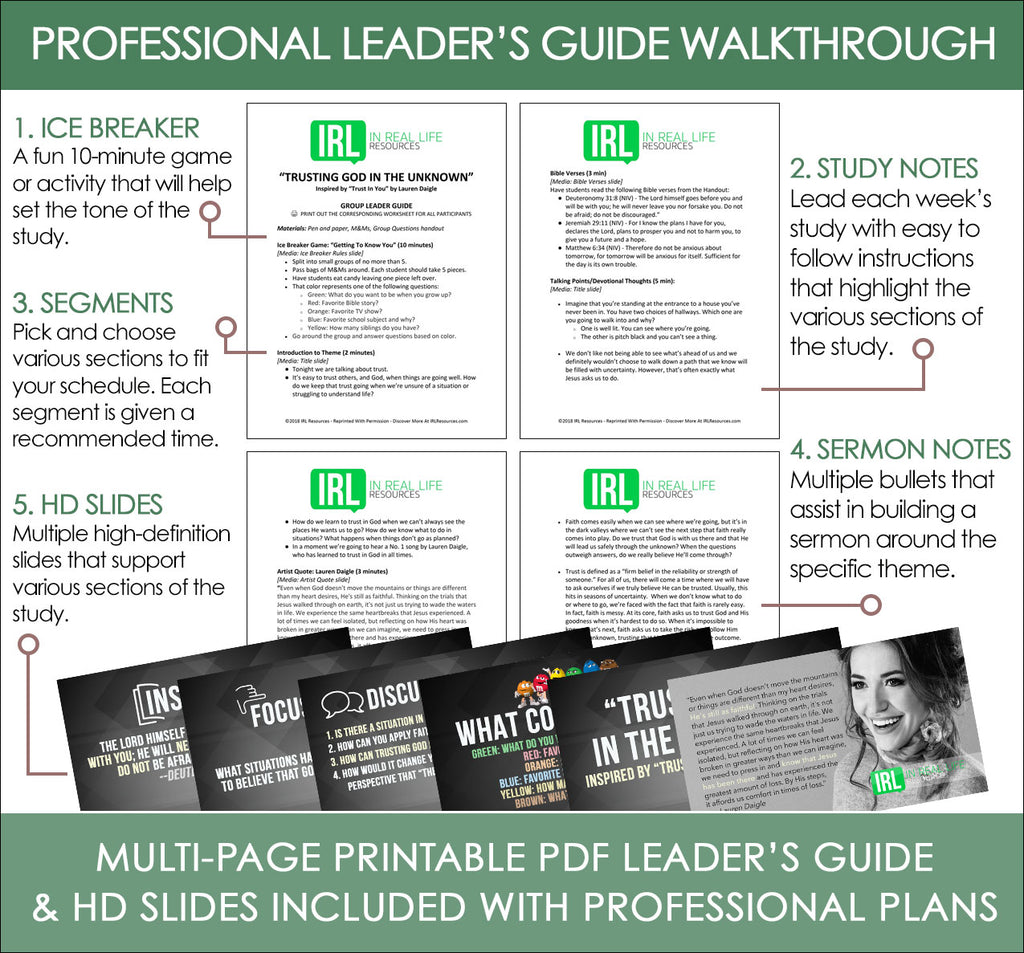 Professional Leader's Guide