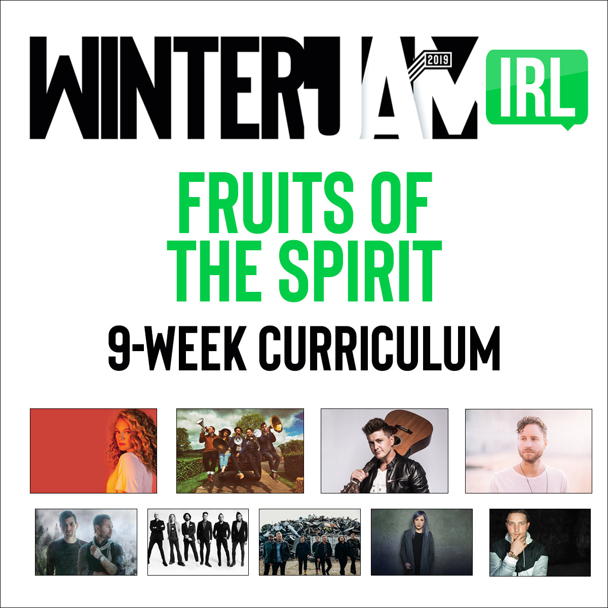 Winter Jam 2019 Fruit of the Spirit Pack (9 Studies)