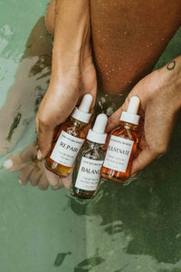 REPAIR Serum - Calendula + Avocado + Helichrysum Facial Serum for Dry Skin