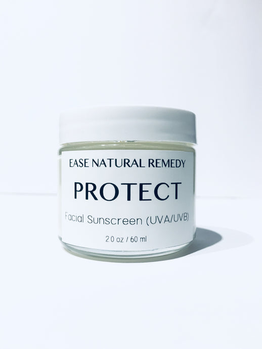 PROTECT - Natural & Organic Facial Sunscreen (UVA/UVB) SPF 25