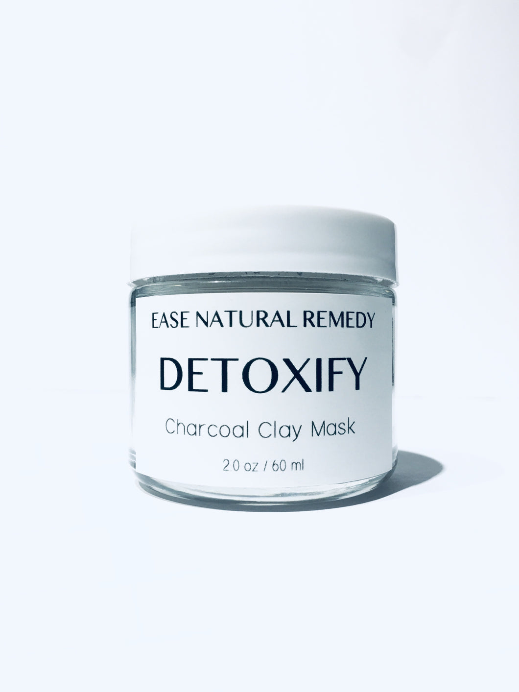DETOXIFY - Charcoal Clay Mask / Deep Pore Cleansing / Oily,Acne prone skin (SOLD OUT)