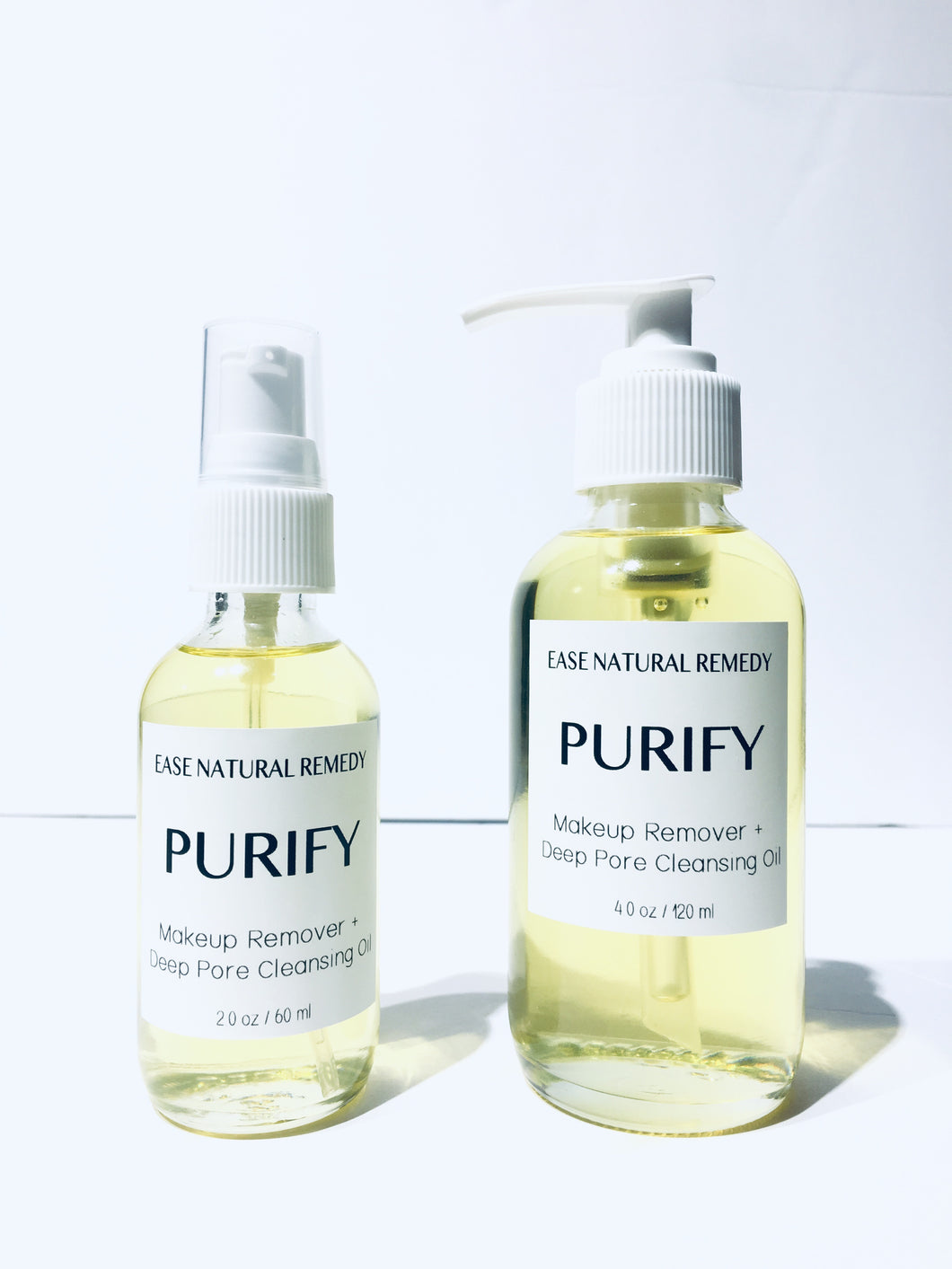 PURIFY - 100% Organic Makeup Remover + Deep Pore Cleansing Oil