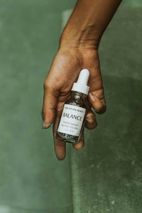 BALANCE Facial Serum - Jojoba + Argan + Black Cumin  + Blue Tansy for Normal, Oily, Acne blemishes Skin